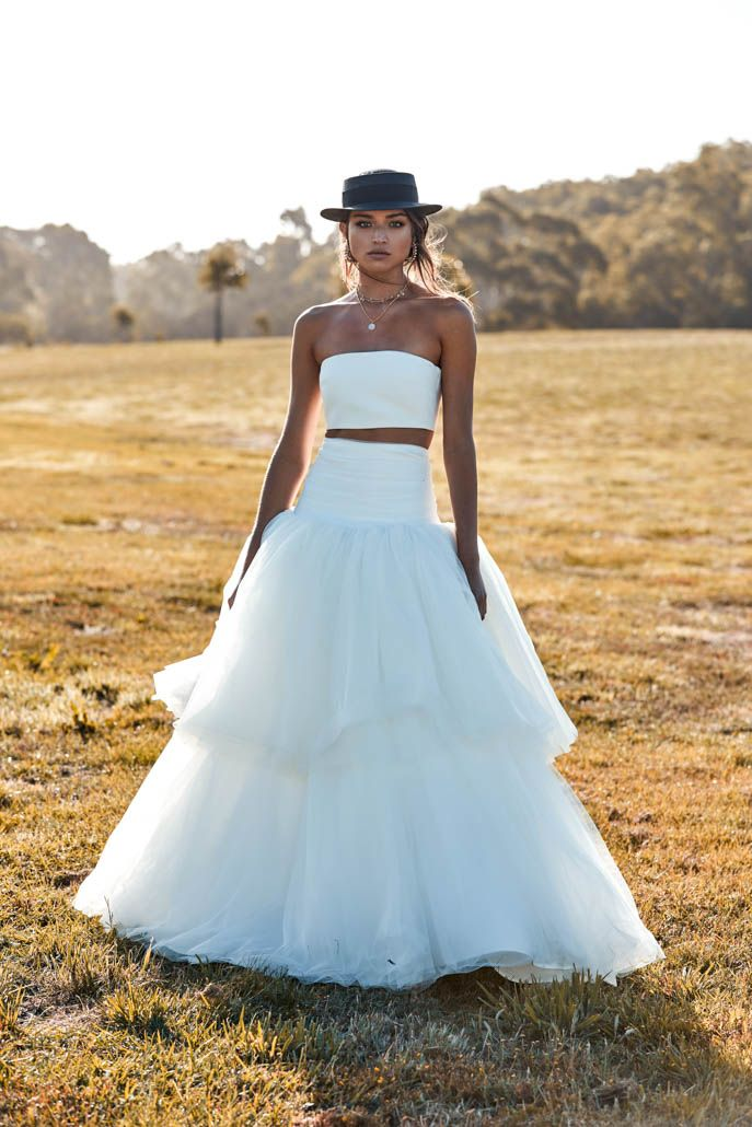 Murphy Skirt + Top | One Day Bridal | CHOSEN – New Reign Collection ...