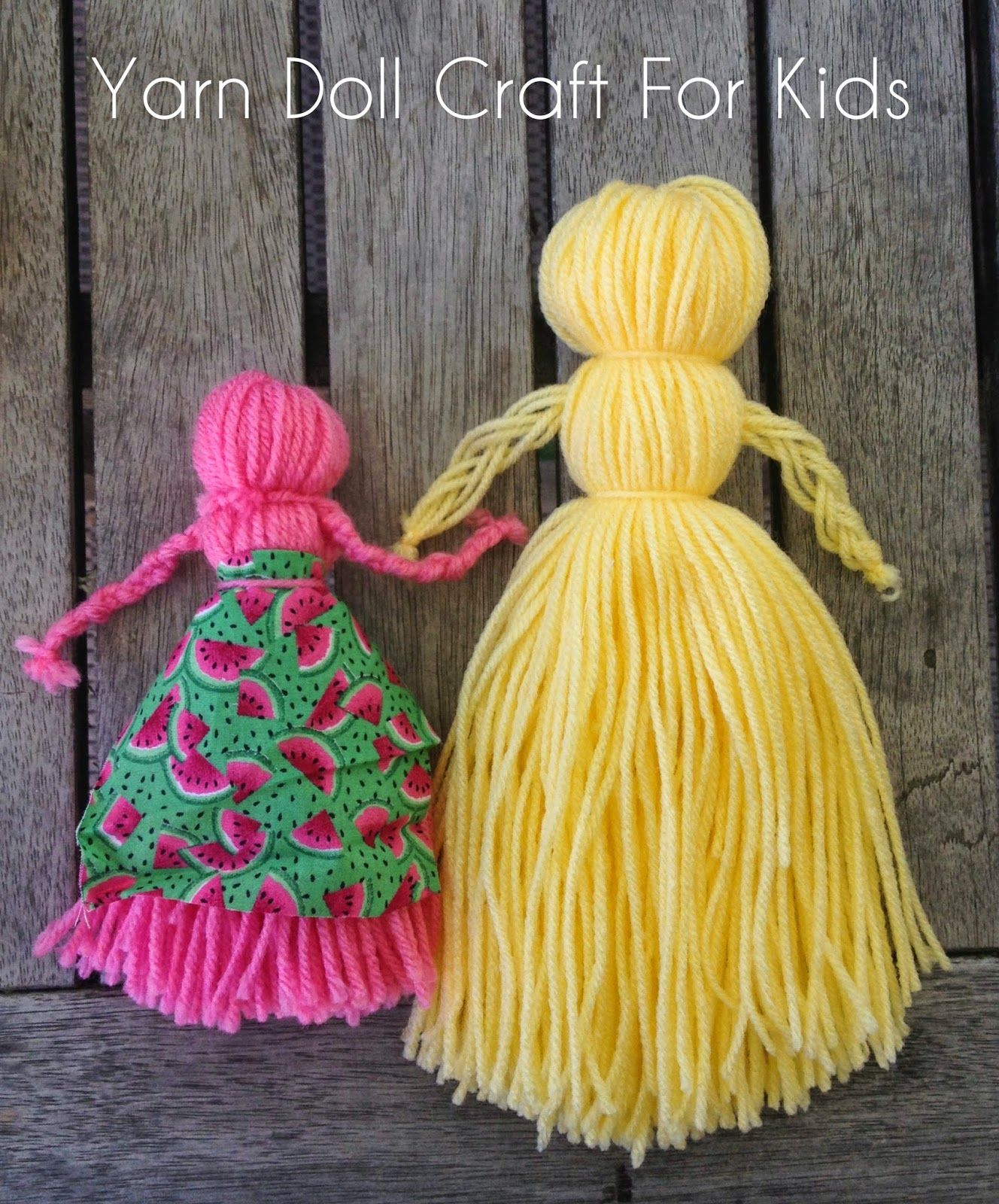 How to make a doll of threads with their own hands 42