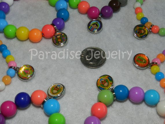 Children's Jewelry Rainbow Bracelet  Our by ParadiseJewelryofCP