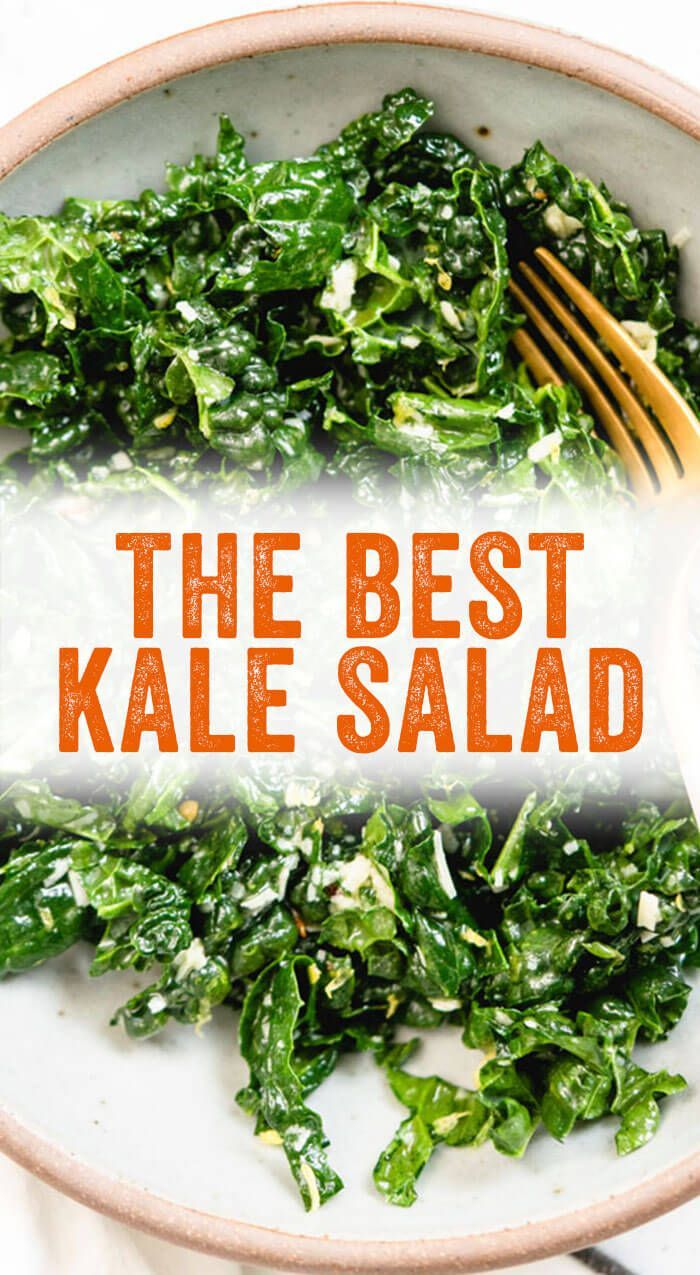 The BEST Kale Salad – A Couple Cooks This is the B