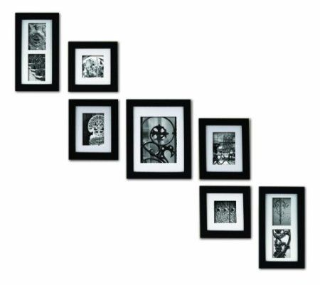 Amazon.com: Pinnacle Frames and Accents 7-Piece Photo Frame Set ...