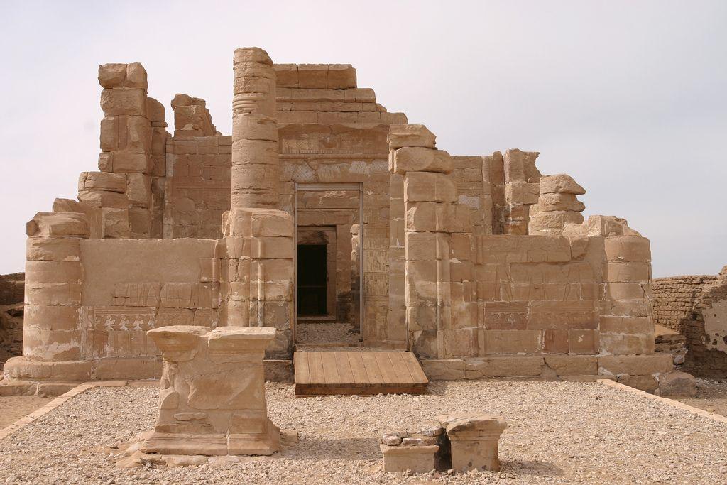 Deir el-Haggar (II)