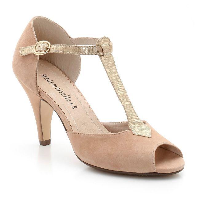 Mad Shoes Mademoiselle Vintage R Shoes About Salomés Cuir x6wHq48A