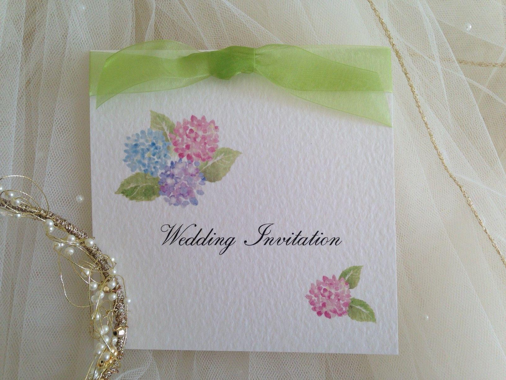 https://www.invitationhouse.co.uk/wedding-invitations Hydrangea Wedding Invitations from £1.25 each