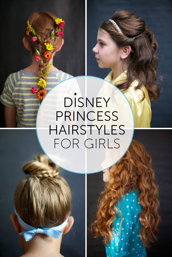 Follow These Steps To Create Disney Princess Hair For The Little Princess In Your Life Princess Hairstyles Disney Princess Hairstyles Disney Hairstyles
