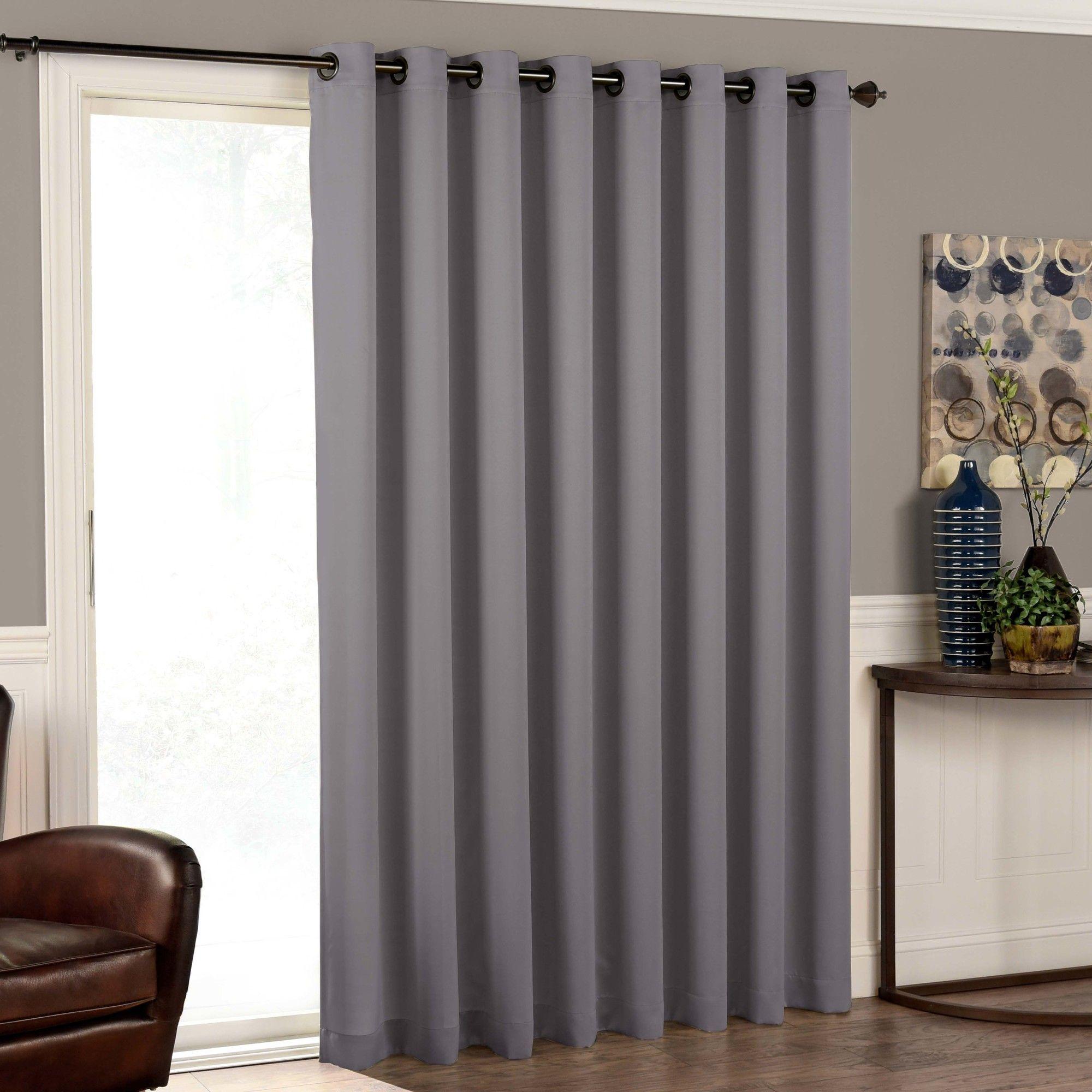 Cantor Solid Room Darkening Grommet Single Curtain Panel