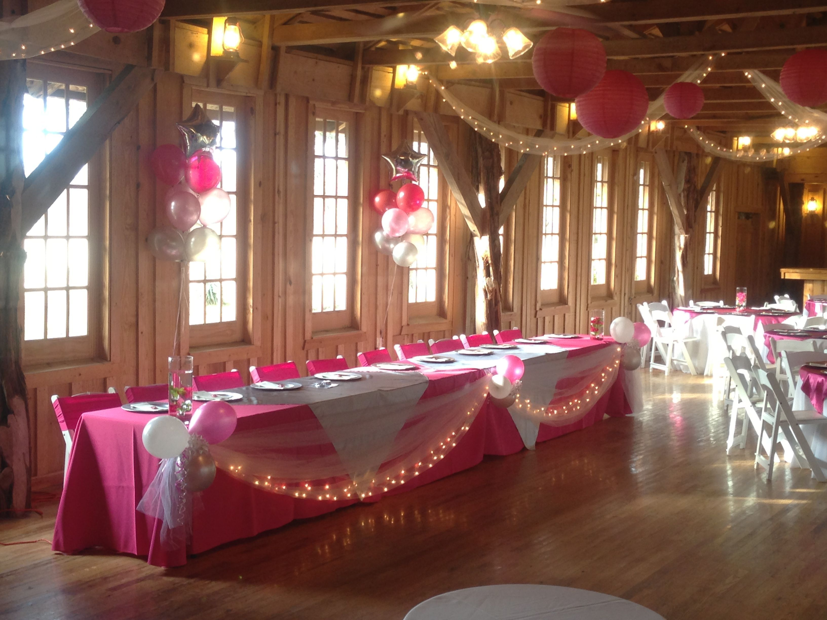 @Tracy Dub Old Town, Head Table decor | Quinceanera Ideas ...  @Tracy Dub Old ...