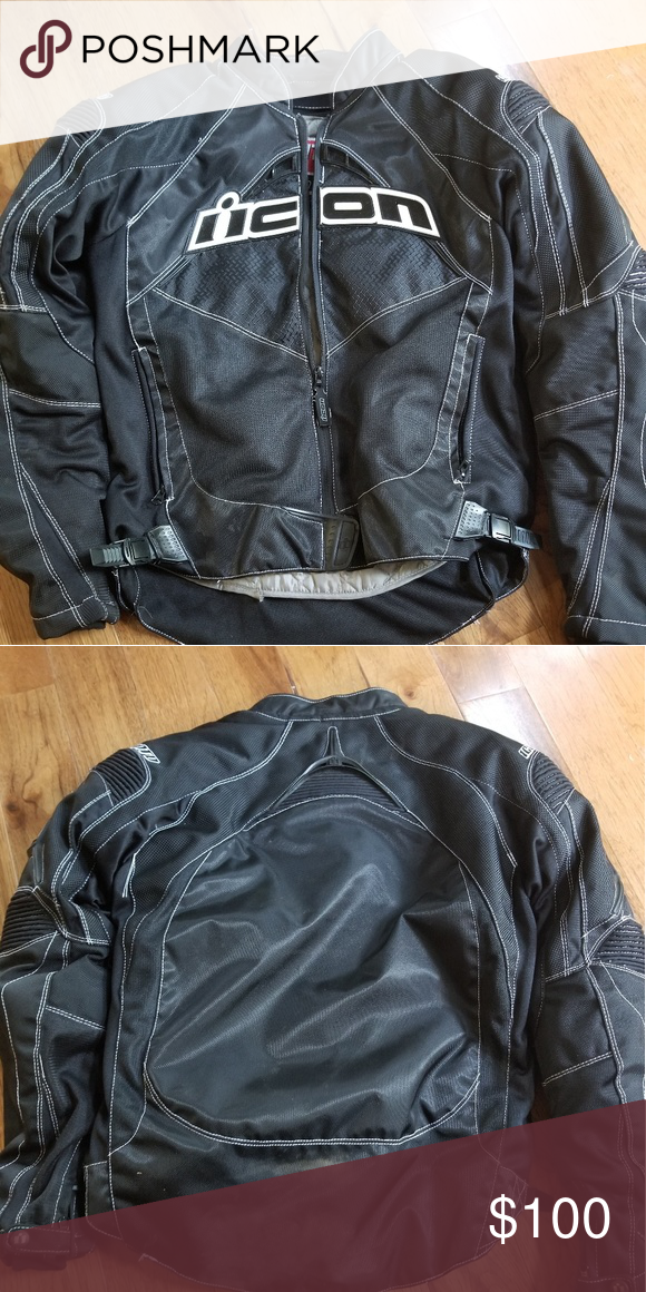 Icon Motorcycle Jacket Used Icon Motorcycle Jacket