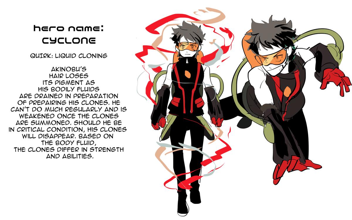 Akinobu Liquid Cloning My Hero Academia Hero My Hero