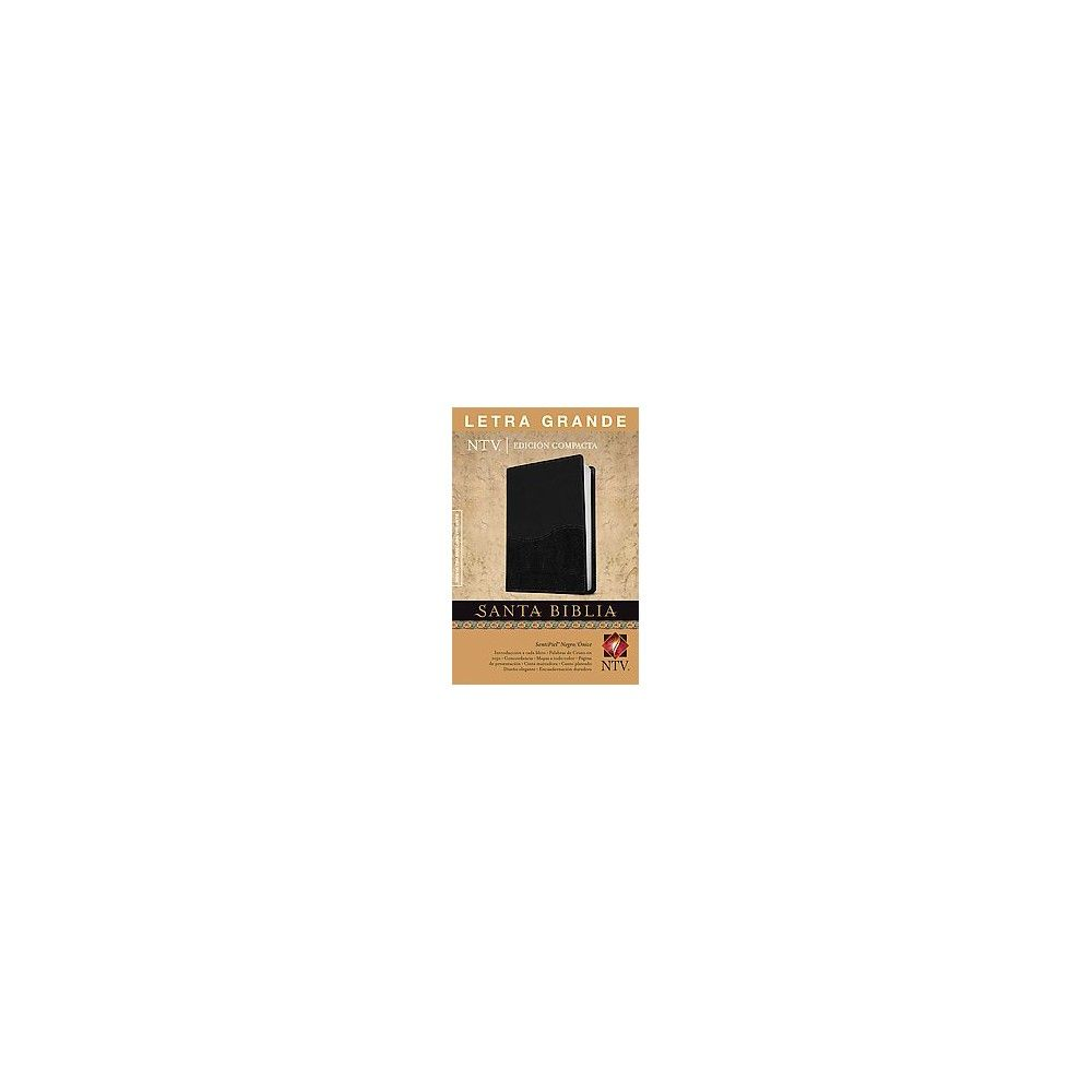 Santa Biblia / Holy Bible : Nueva Traduccion Viviente, Duotono (Large Print, Compact) (Paperback)