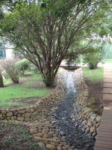 Residential Drainage Ditch Google Search Backyard Drainage Yard Drainage Landscape Drainage