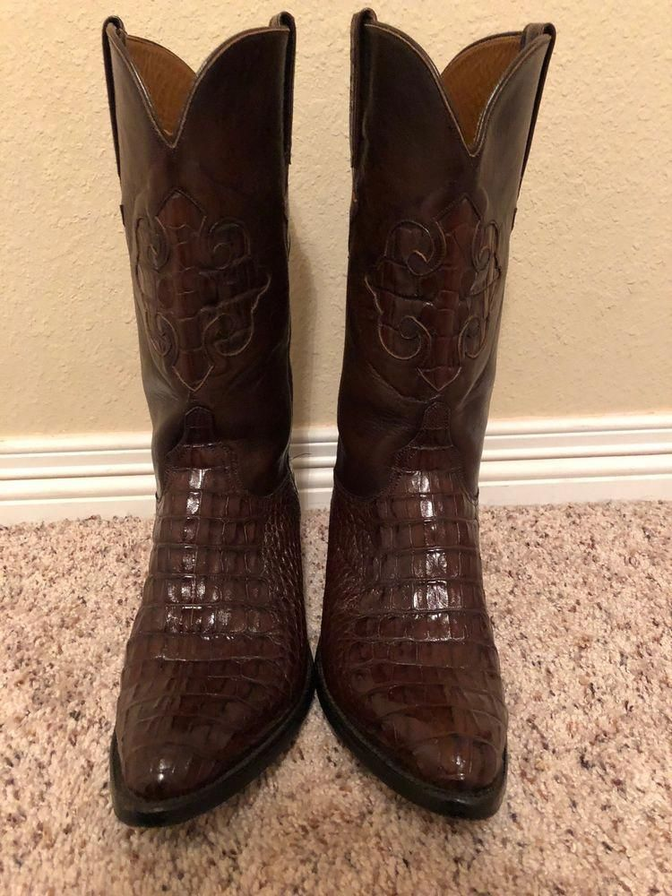 the latest 7e47e 40702 Lucchese Boots Womens 9 1 2 Caiman lightly used  fashion  clothing  shoes   accessories  womensshoes  boots (ebay link)  Womenscontinental80Shoes