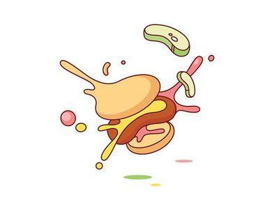 Exploding Hamburger