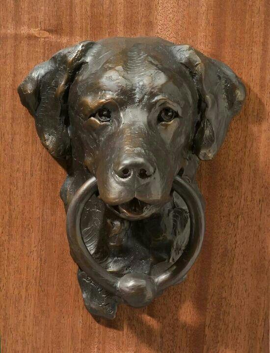 Dog Door Knocker... TURN ME.