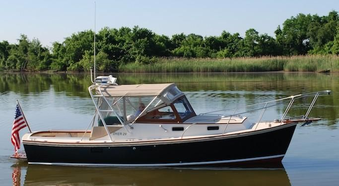 2001 Dyer 29 Soft Top Power Boat For Sale Www Yachtworld Com Boat Boats For Sale Classic Boats