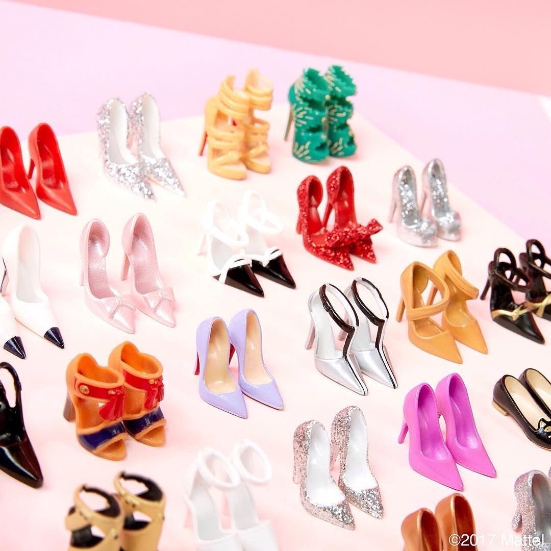 It's #shoesday! When it comes to shoes, how do you choose? #barbie #barbiestyle