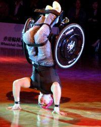 Wheelchair Headstand Sports Dance Hip Hop