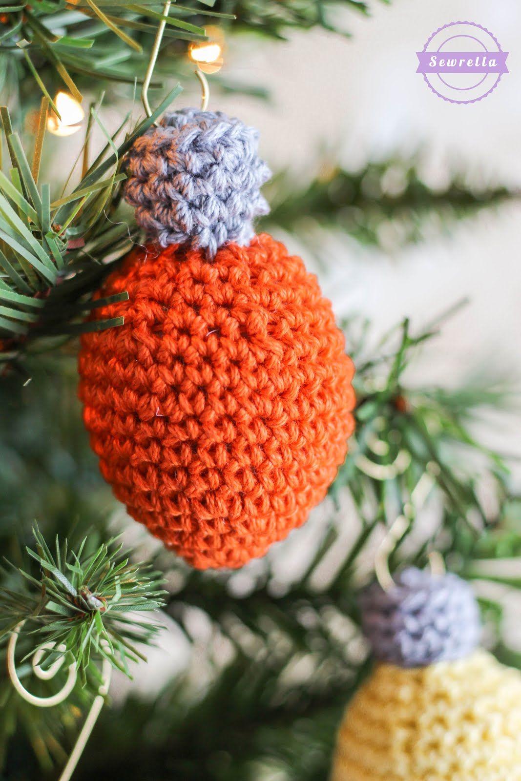 Christmas Lights Ornament Christmas Traditions Cal Sewrella Christmas Light Ornament Christmas Crochet Crochet Christmas Lights