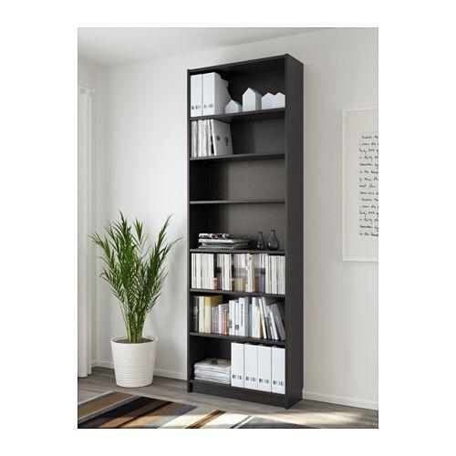 BILLY Boekenkast, zwartbruin | Shelves, Bookcases and Ikea billy