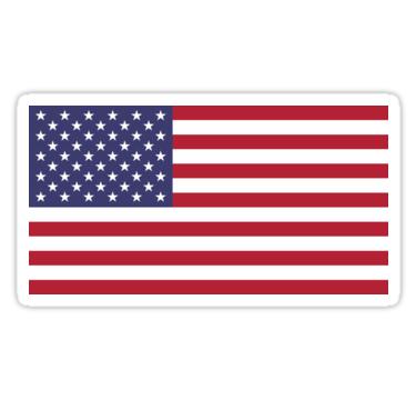 Bandera Usa Bandeira Americana Escudo Futebol