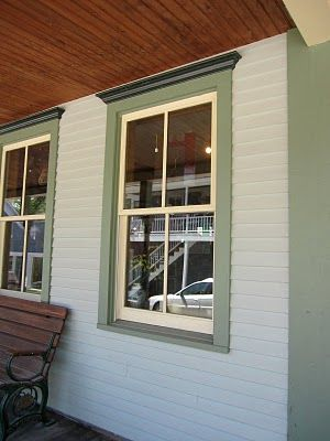 Outdoor Wood Window Trim