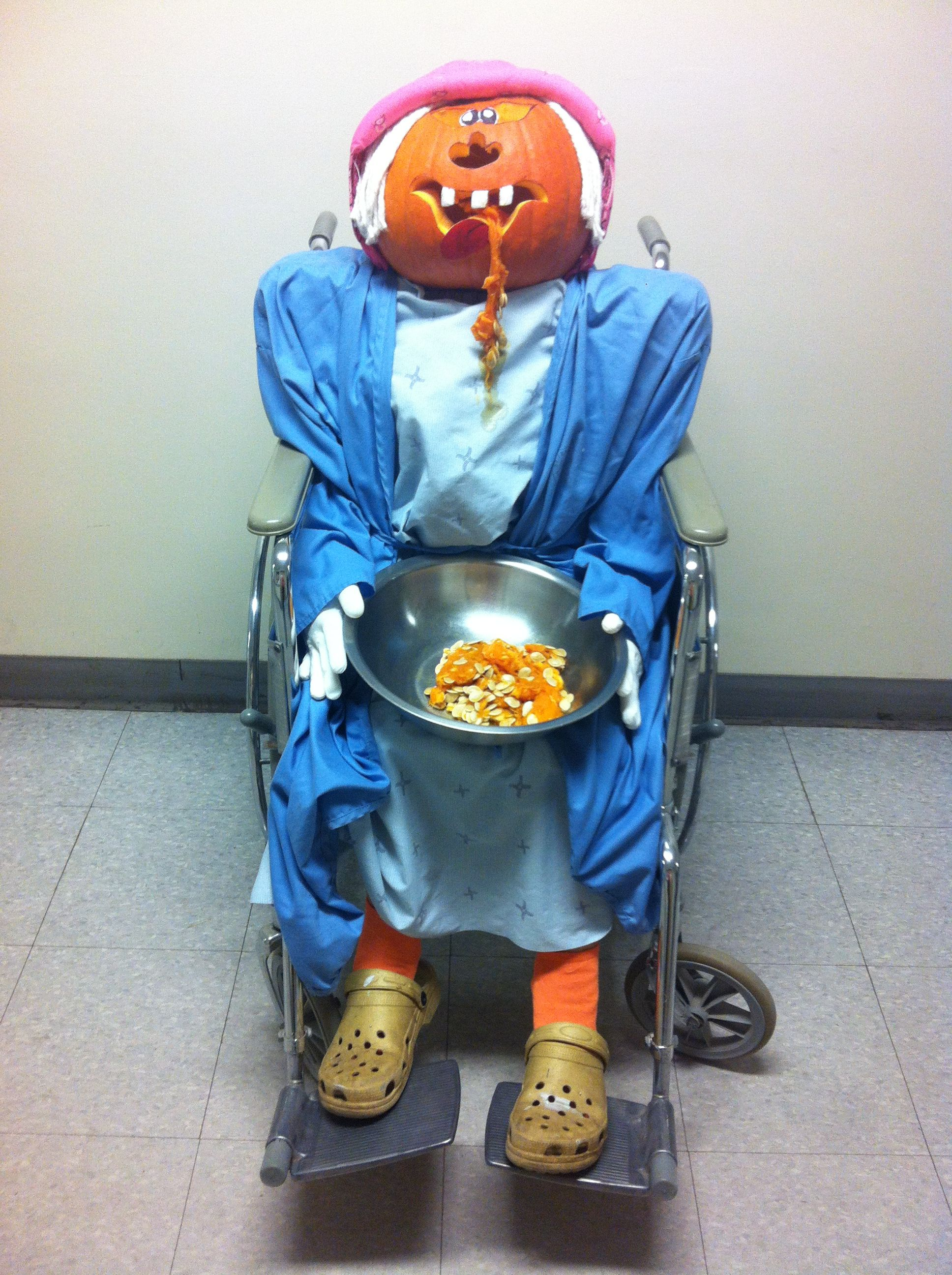 hospital pumpkin contest - housekeeping dept | st francis rec comm