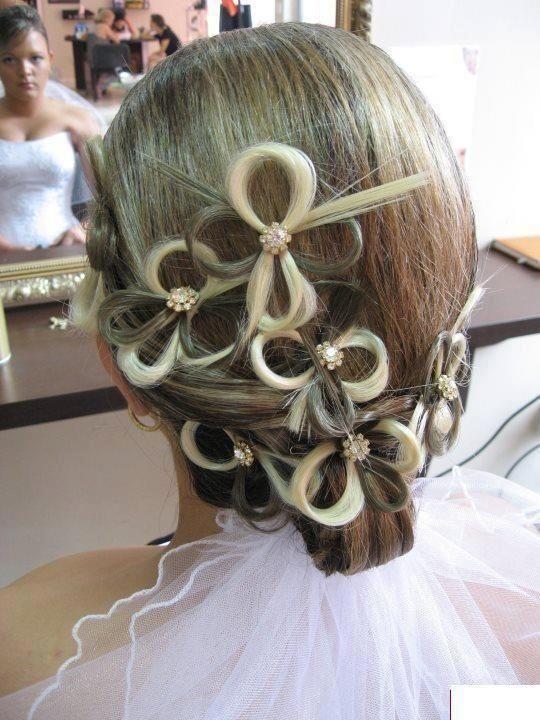 2 Hairstyle Beautiful And Unique Fashion Te Capelli Acconciature Spose