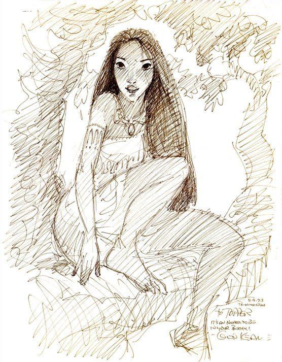 Pocahontas, une Légende Indienne [Walt Disney - 1995] - Page 13 Abefdd00a64efc2ee07d2e130642fb50