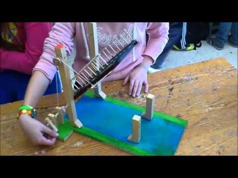 Puente Levadizo Manualidades Para Niños Reciclaje Maquetas De Maquinas Simples Maquinas Simples Para Niños