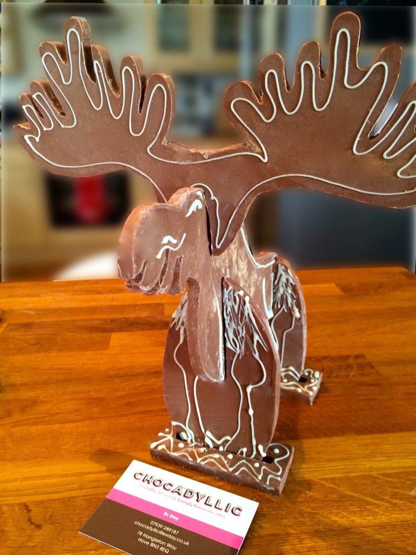 Cedric the chocolate moose 3d puzzle love cedric