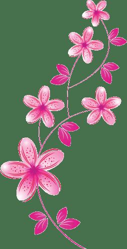 Vinilo decorativo flores 254 498 pixeles Plantillas decorativas ikea