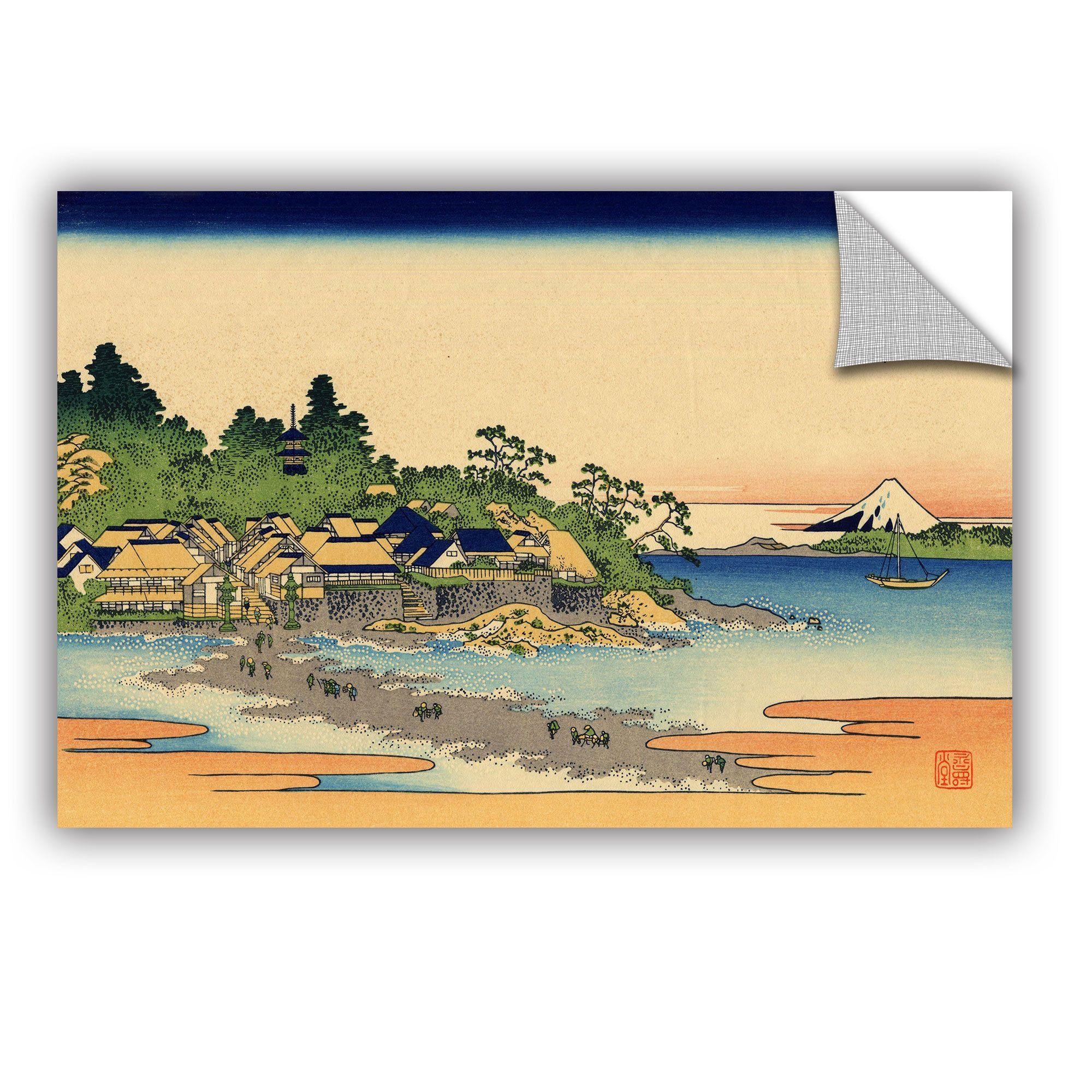 ArtAppealz Katsushika Hokusai \'Enoshima In The Sagami Province ...