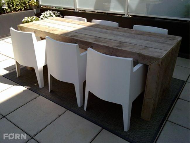 Bauholz Tisch Leon Küche Wohnzimmer Wohnideen Büro Garten - esszimmer im wohnzimmer