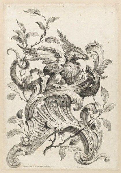 Acanthus leaf design painted gilt furniture