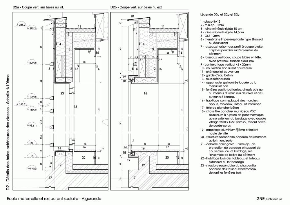 Aigurande / 2NE Architecture Detalle