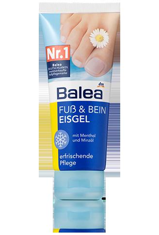 Balea Fuss Bein Eisgel Balea Produkte Dm Produkte Balea