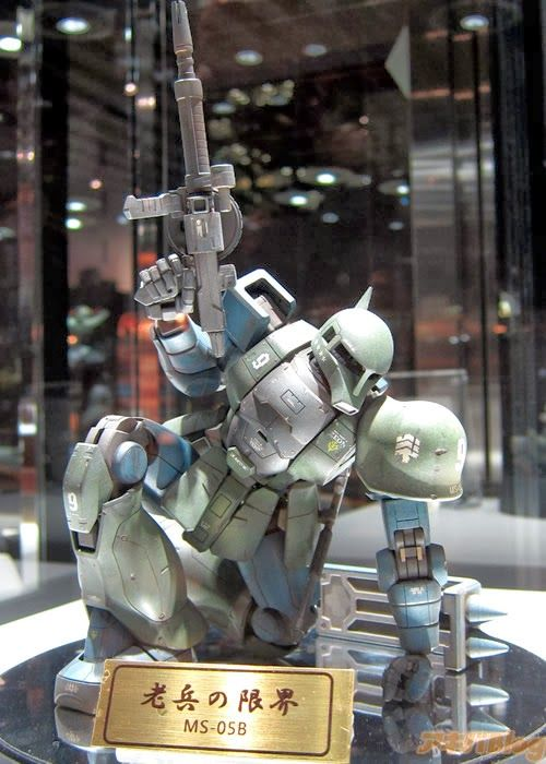 Gunpla Builders World Cup (GBWC) 2013 Finals - On Display @ Gunpla Expo World Tour 2013 Japan