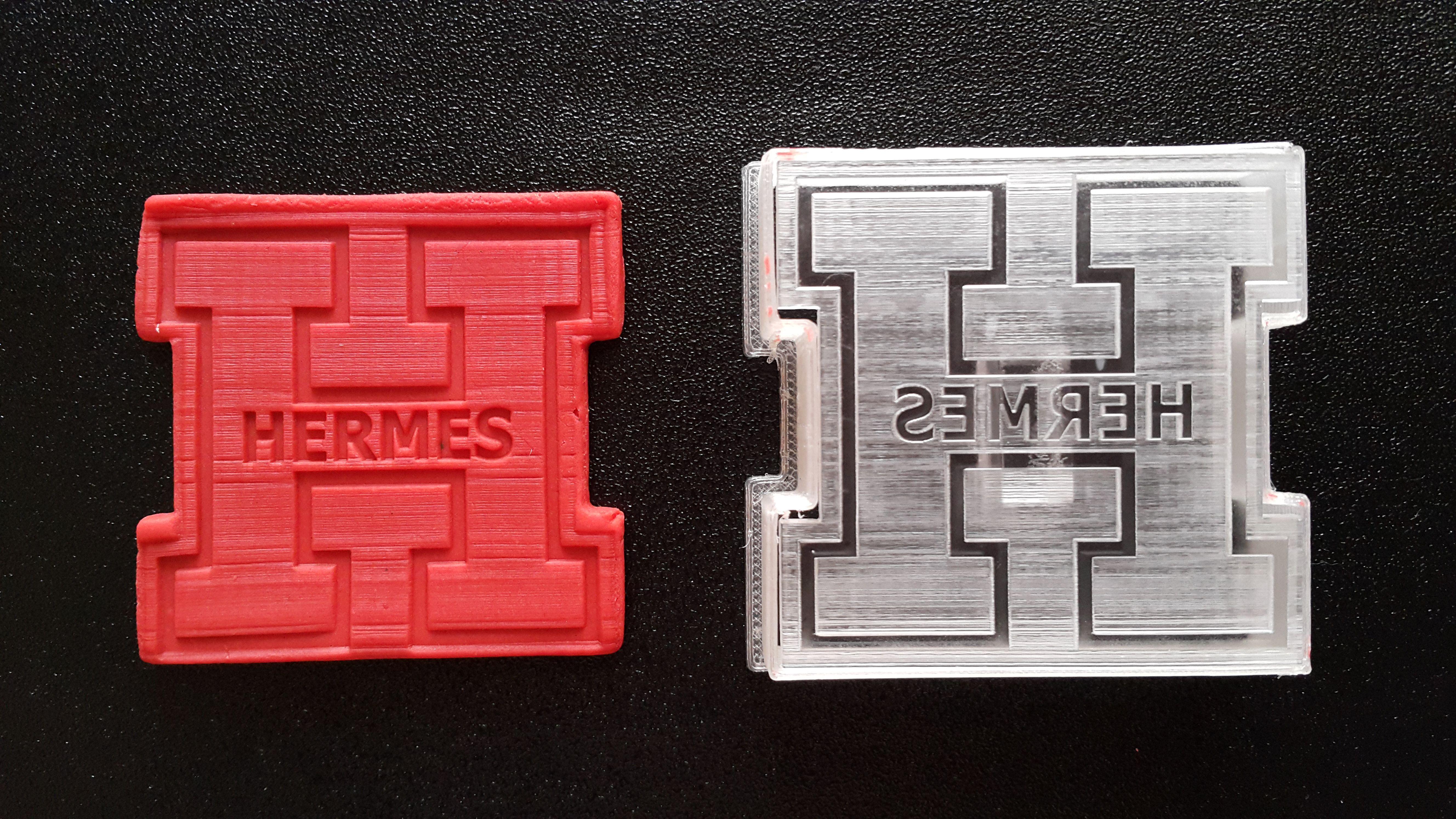 Stamp Cutter Hermes Jsc 061217 Available In 3 Sizes Small Diameter 4 Cm 1 6 Inches Medium Diameter 6 Cm 2 4 Inches Large Diameter 8 Cm 3 2 Inc