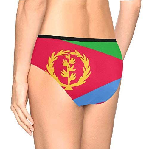 d5e1d3572a Lumos3DPrint Eritrea Flag Women s High Waist Briefs Underwear