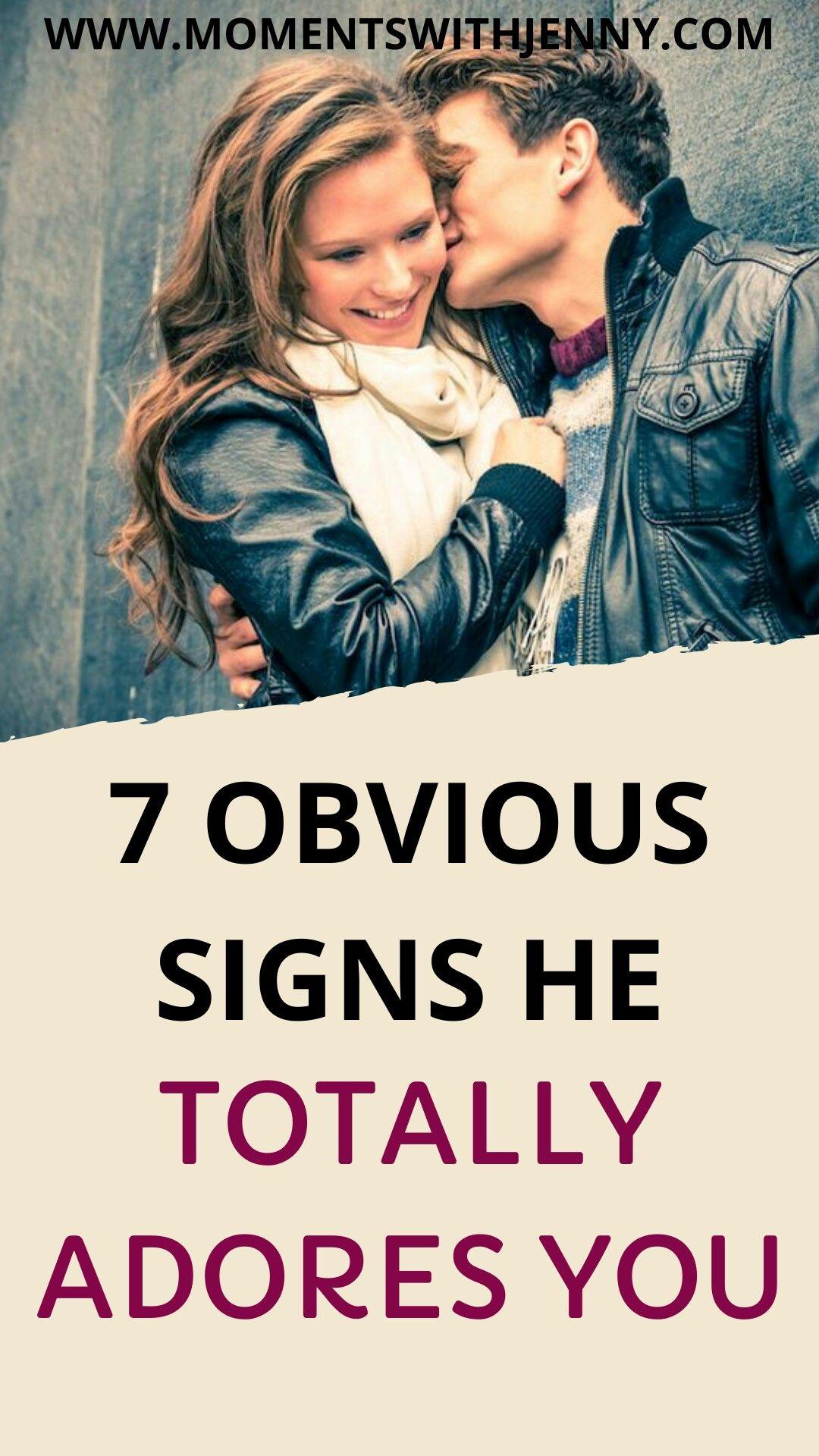 You signs he adores 22 no