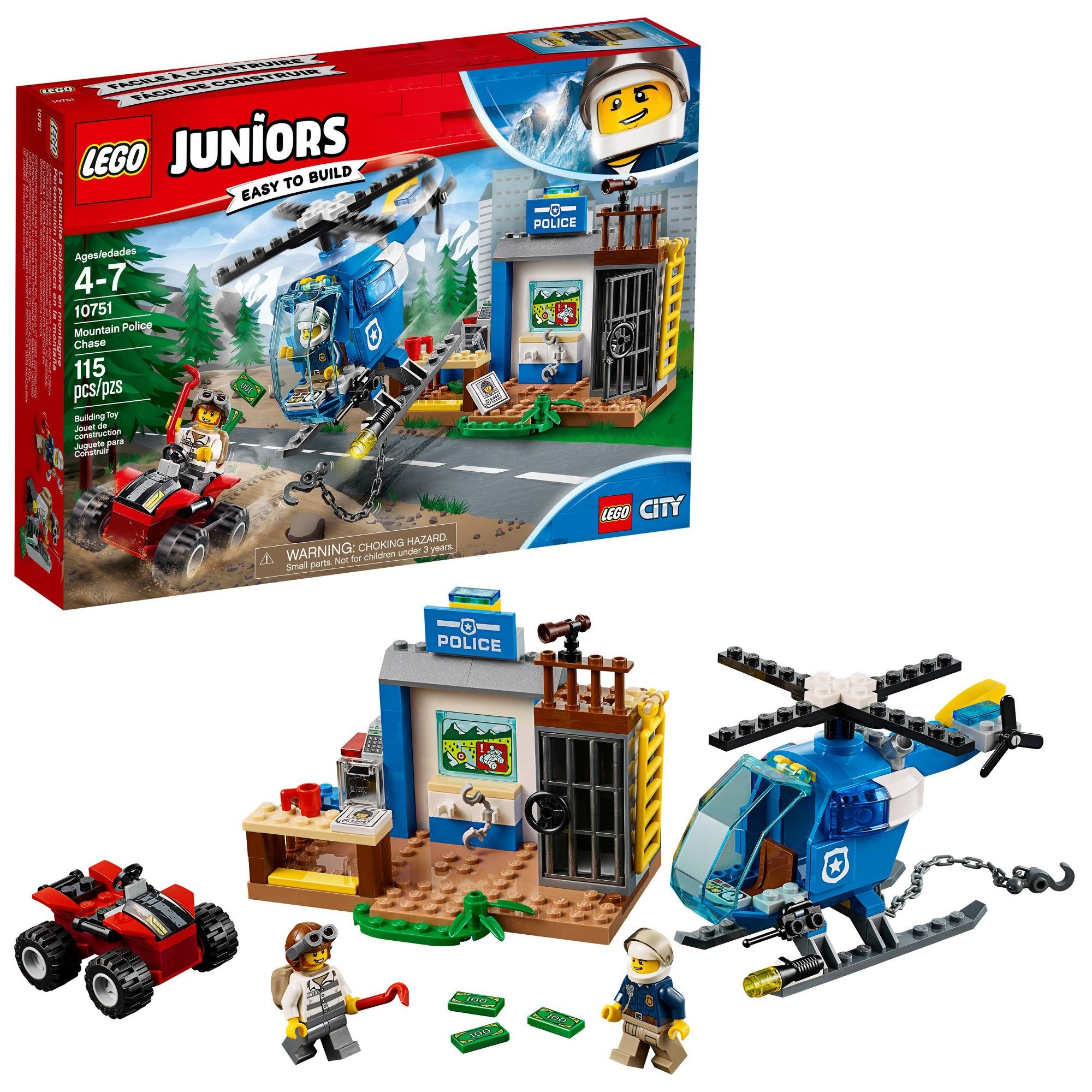 Lego Juniors Mountain Police Chase Products in