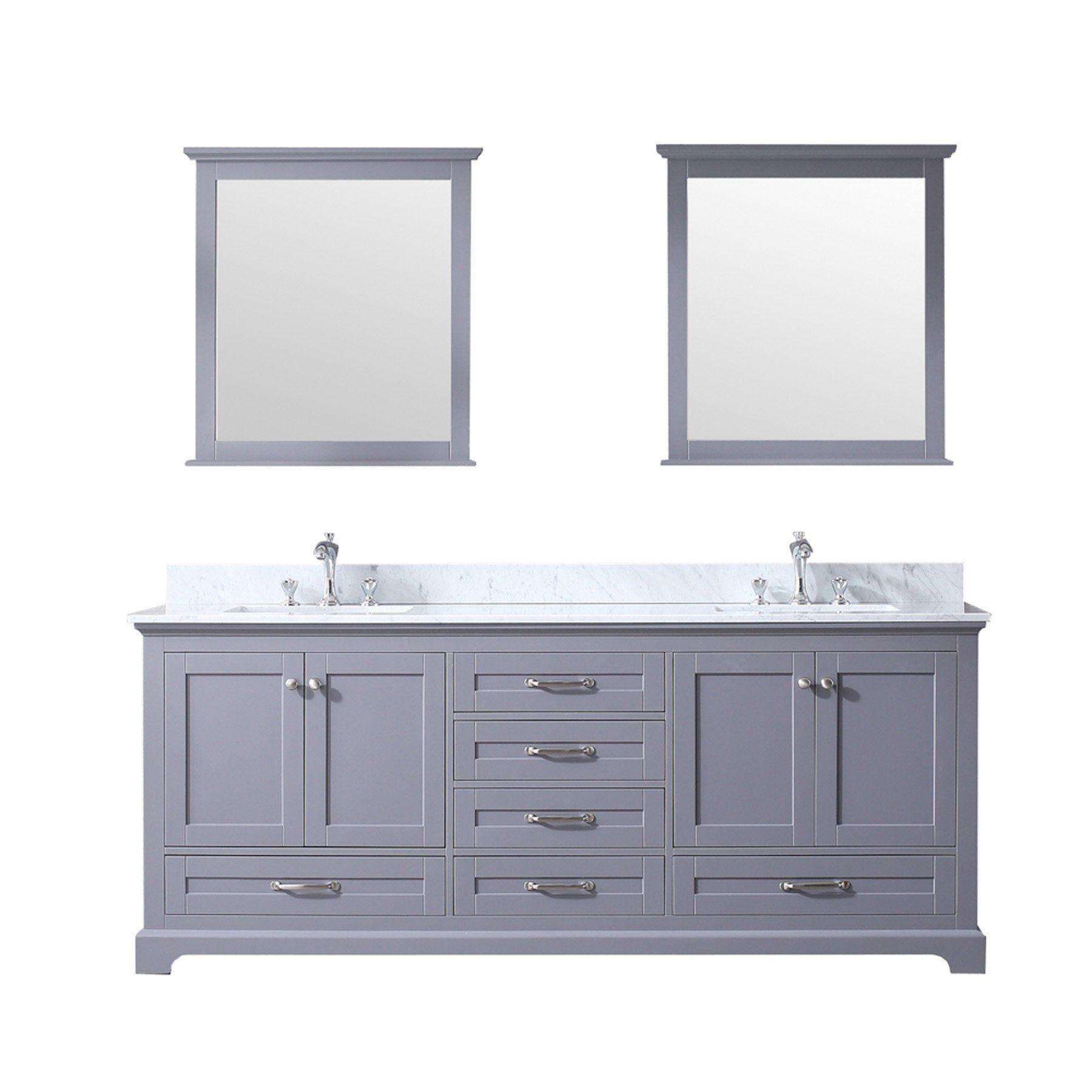 16++ 80 vanity double sink model