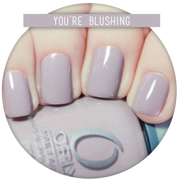 You're blusking - Orly