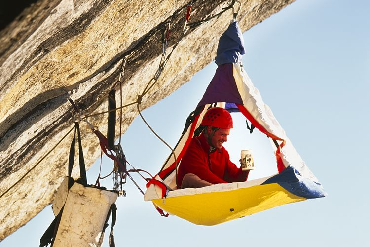 C& On The Side Of A Cliff - Cliff C&ing And Portaledges & Camp On The Side Of A Cliff - Cliff Camping And Portaledges ...