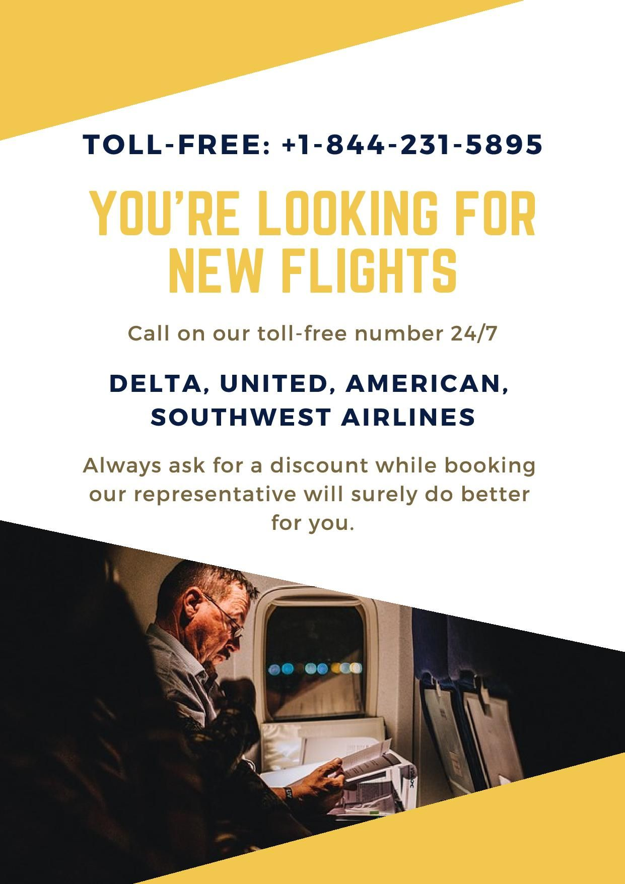 Want to book a new flight or changes? Call Now TollFree