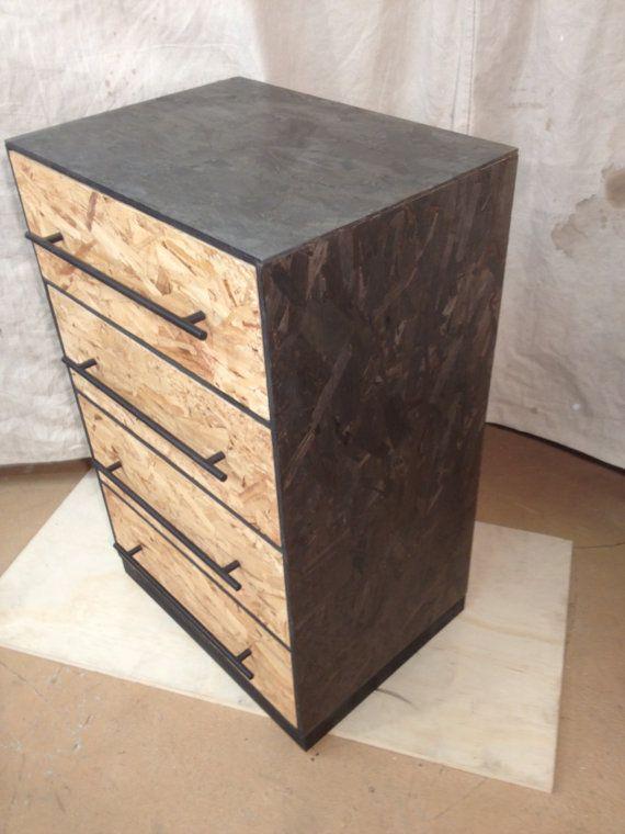 Osb Möbel custom osb monk dresser 4 drawer for candice via etsy diy