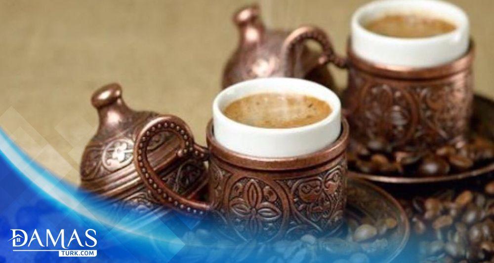 القهوة التركية وتاريخها شركة داماس تورك العقارية Coffee History Turkish Coffee Tableware