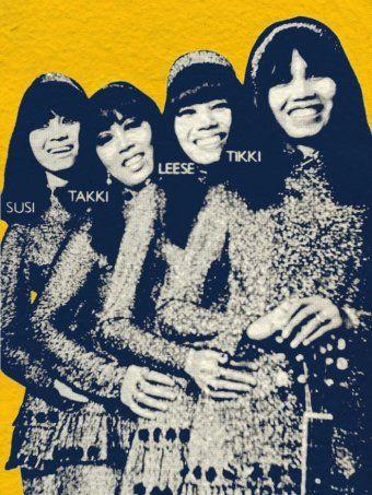 Dara Puspita The All Girl Indonesian Rock Band Of The 60s And 70s Rock Bands Psychedelic Rock Bands Psychedelic Rock