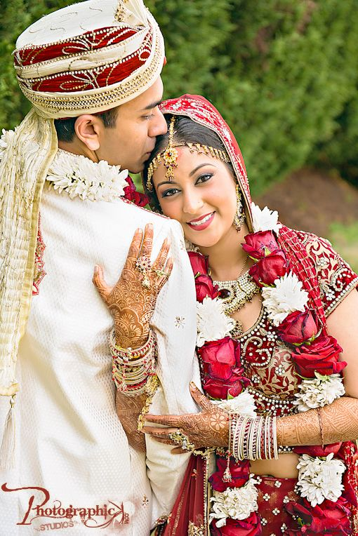 Traditional Indian wedding on