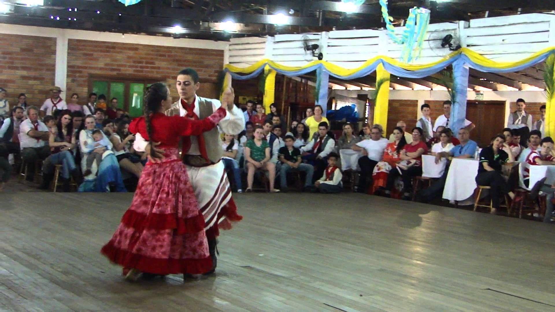 1ºLugar Dança de Salão Adulto - Chamamé - CTG Estância Colorada 10ºRT